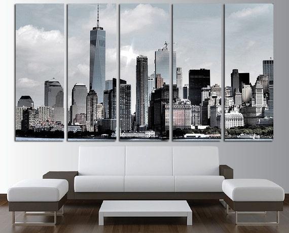 New York City Canvas Wall Art Multi Panel Set New York Wall | Etsy
