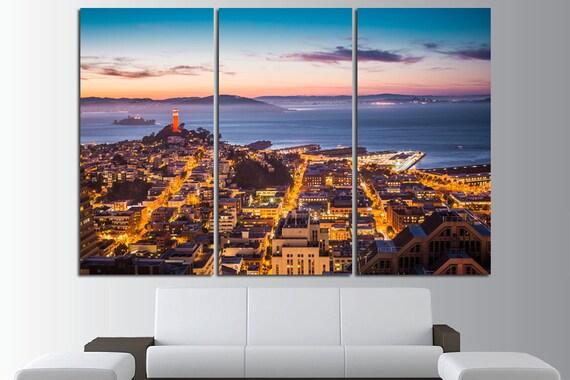 San Francisco Wall Art San Francisco Wall Decor San Francisco | Etsy