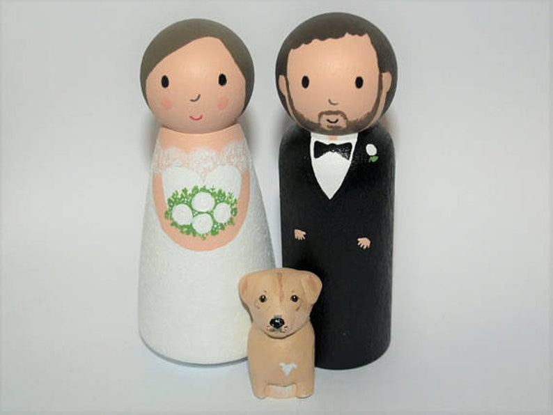 Cutest Wedding Cake Toppers.Cute Wedding Cake Topper With Dog Or Cat Custom Bride And Groom Cute Personalized Wedding Cake Topper