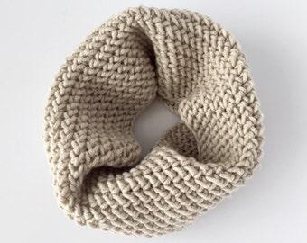 CROCHET PATTERN: Gemma Cowl - crochet cowl pattern, crochet scarf pattern, crochet infinity scarf, neck warmer (toddler, child, adult sizes)