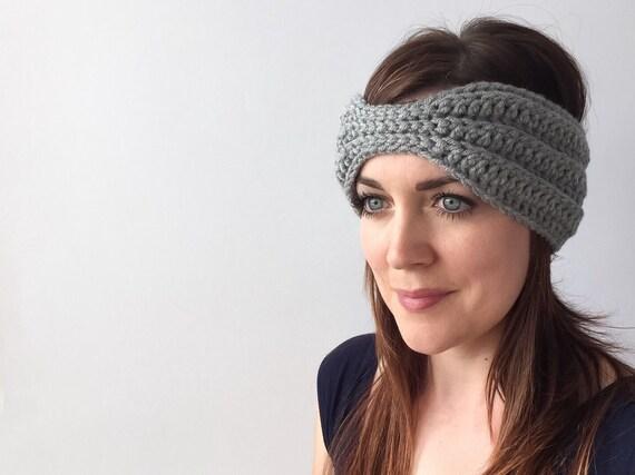 CROCHET PATTERN: Harper Headband - crochet headband pattern, crochet ...