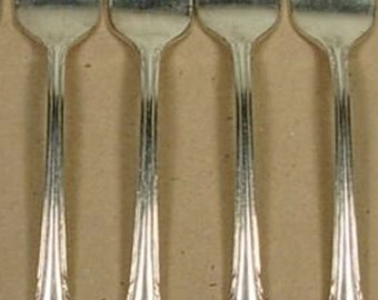 Rogers Silverplate Remembrance Four Salad Forks