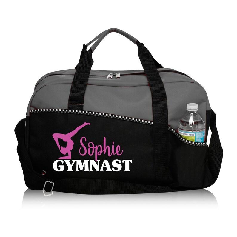 ed4d4fabee56 Personalized Gymnast Bag Gymnastics Bag Custom Duffle Bag