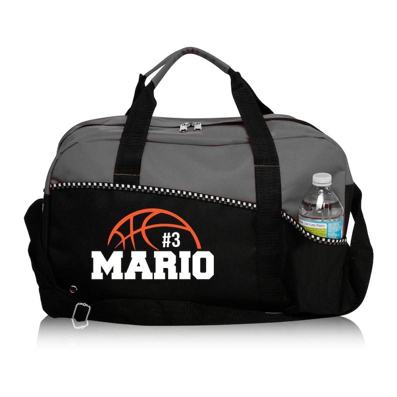 Custom Basketball Basketball Duffle Bag Personalized Bag  33c8b5081bfd2
