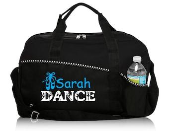 Practice Duffle Bag, Dance Team Bag, Personalized Bag, Ballet Dancer Bag, Dancer Gift, Love Ballet Gift, Girl Dance Bag, Competition Bag