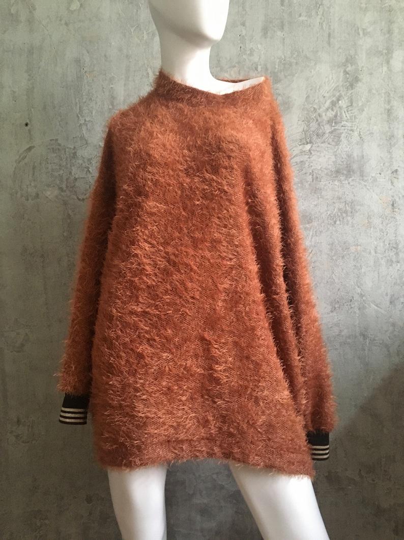 thinkBIG sweater oversize dark orange image 0