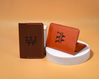 Personalized Passport Holder   Leather Passport Cover   Monogram   Christmas Gift   Anniversary Gift  Travel Accessories