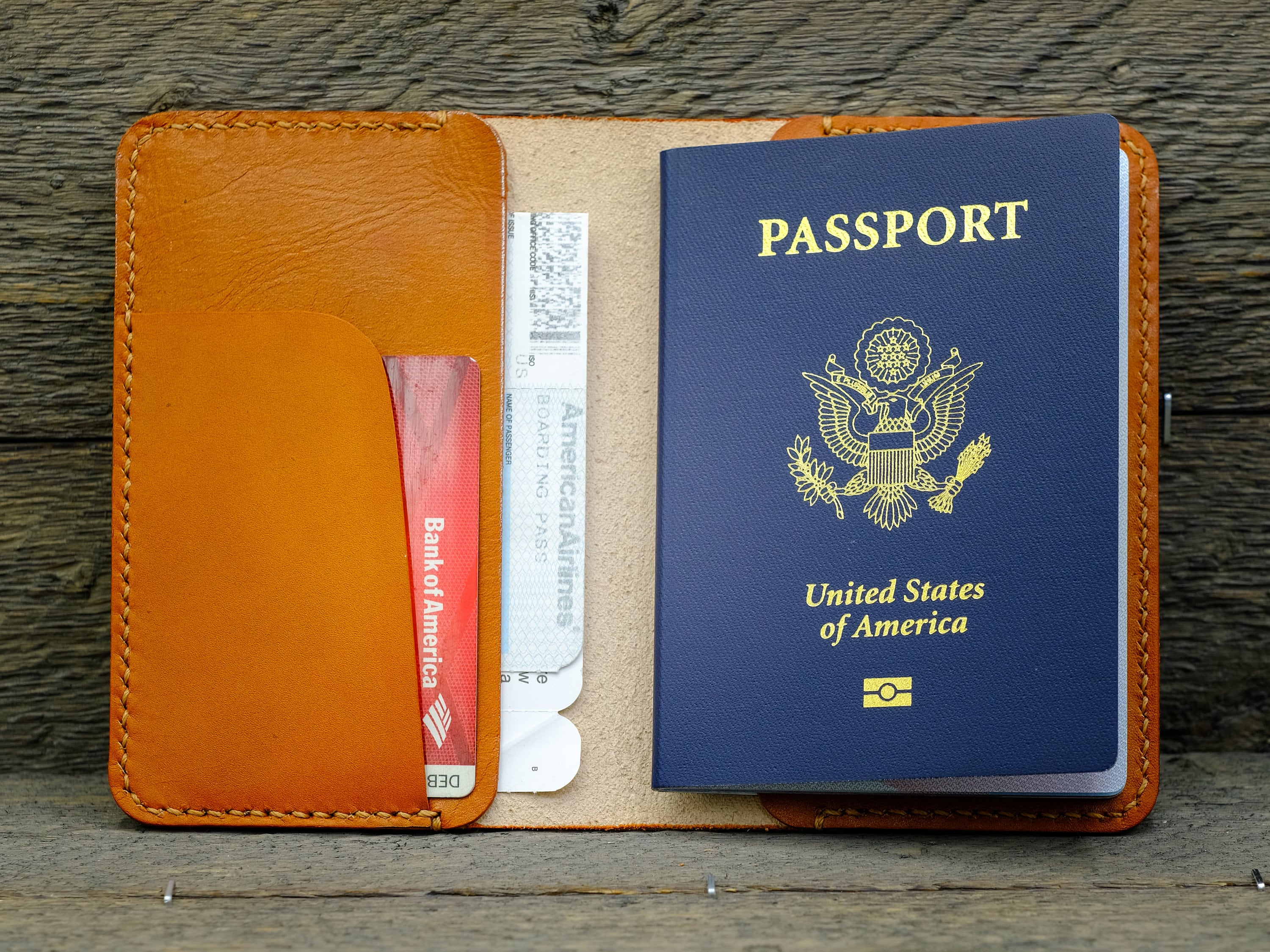 Design Your own passport holder / Leather passport cover ...