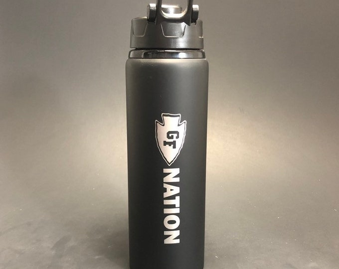 GF Nation - 28 oz Aluminum water bottle