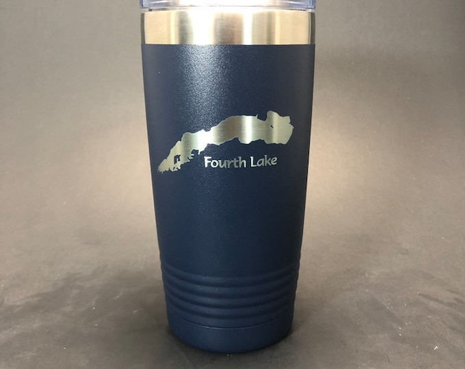 Fourth Lake (Northern ADK) - 20 oz Polar Tumbler