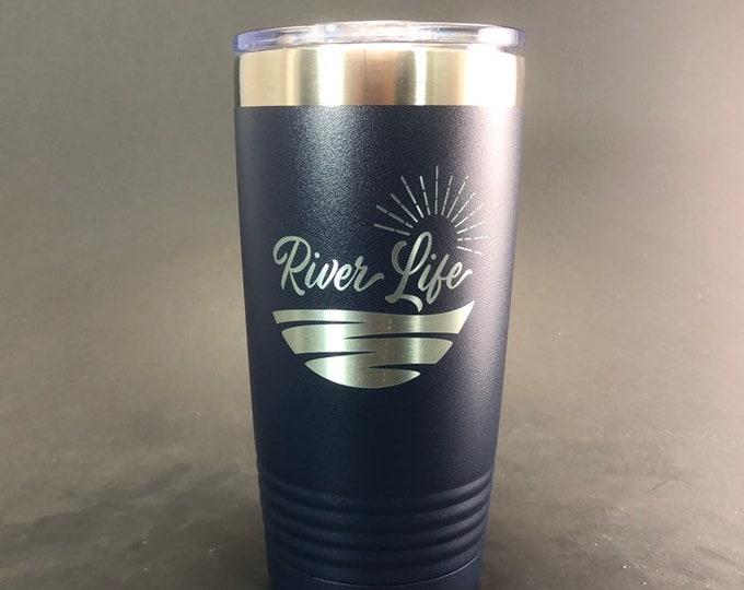 River Life - 20 oz Polar Tumbler - Insulated Tumbler