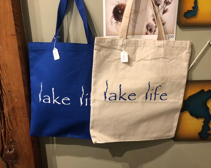 Lake George Lake Life - Canvas Tote Bag
