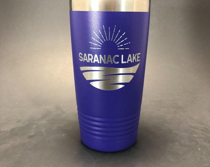 Saranac Lake - 20 oz Polar Tumbler - Insulated tumbler