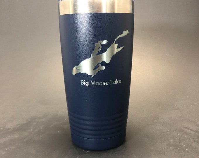 Big Moose Lake - 20 oz Polar Tumbler