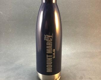 Customizable My Last Mountain Stainless Steel Water Bottle