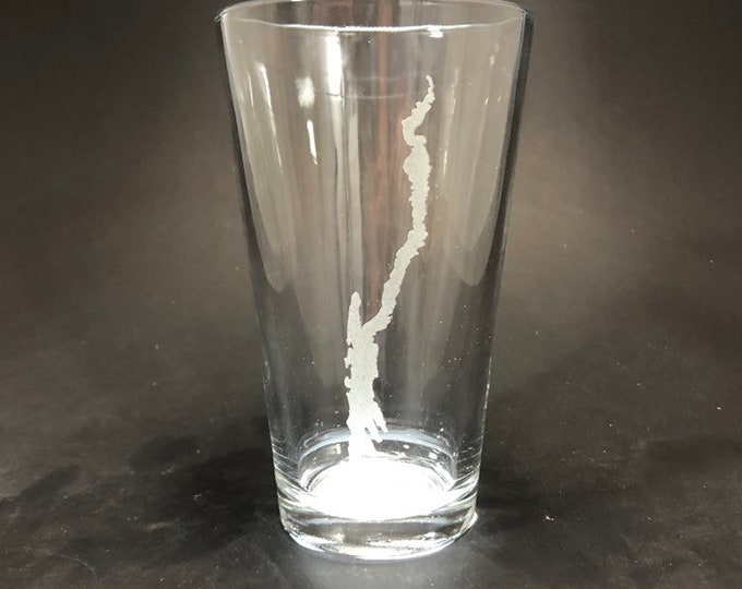 Lake George - Etched Pint Glass