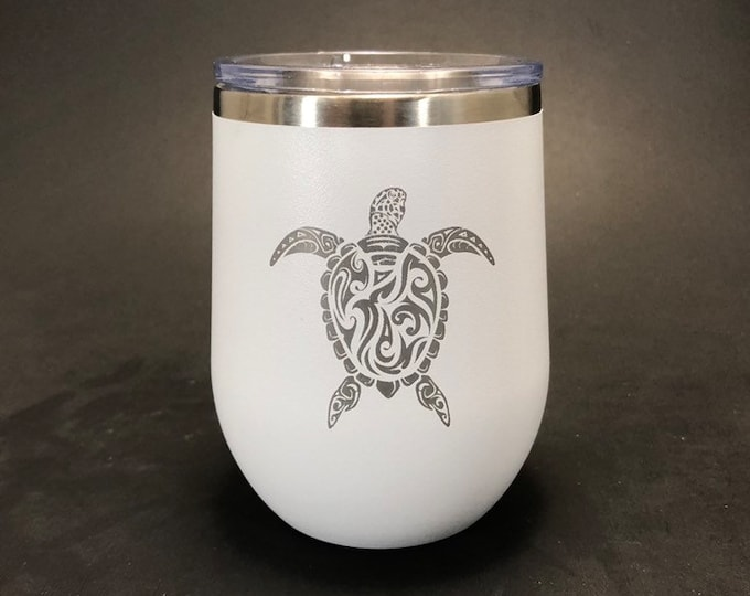 Sea Turle - 12 oz Polar Stemless Wine