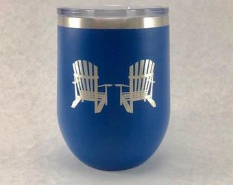 Adirondack Chairs - 12 oz Polar Stemless Wine
