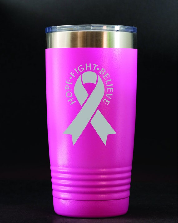 Breast Cancer Survivor 20 ounce Thermal Mug