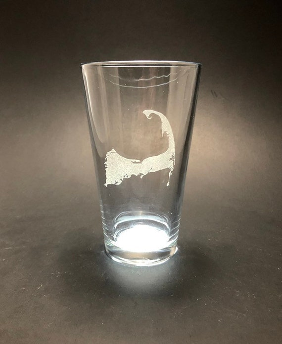 Cape Cod - Etched Pint Glass