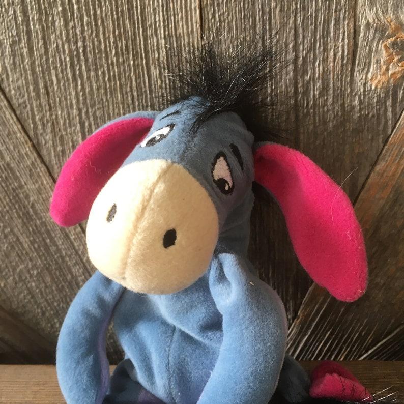 Vintage Eeyore Pooh Beanie Baby Sleepy Donkey Winnie the Pooh  b14786f1c350