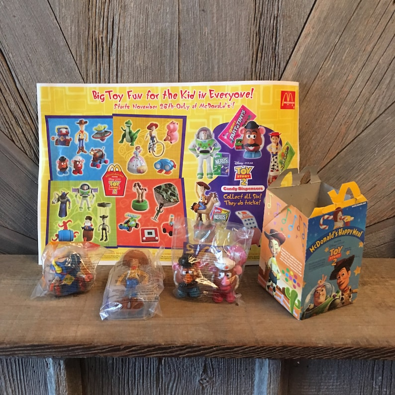 toy story toys mcdonalds