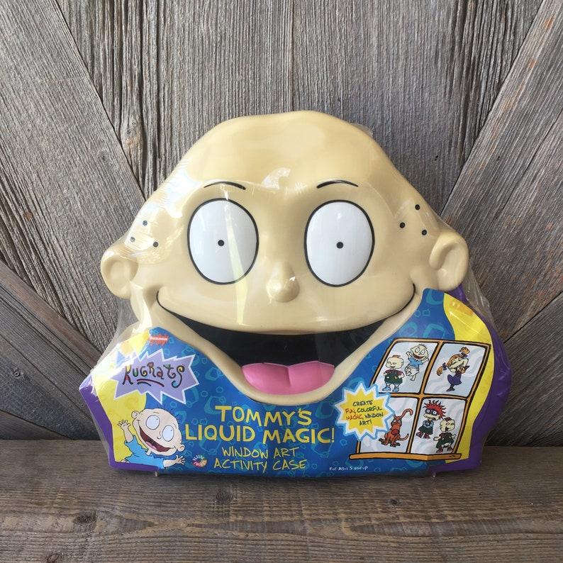 d3044d8295a8ea Vintage Rugrats Tommy s Liquid Magic Window Art Activity