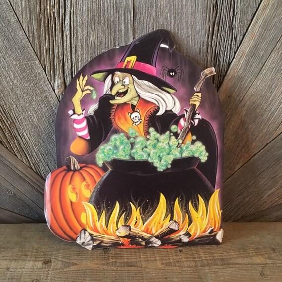 JACK O LANTERNS Craft Buttons 1ST CLASS POST Trick Treat Pumpkin Witch Halloween