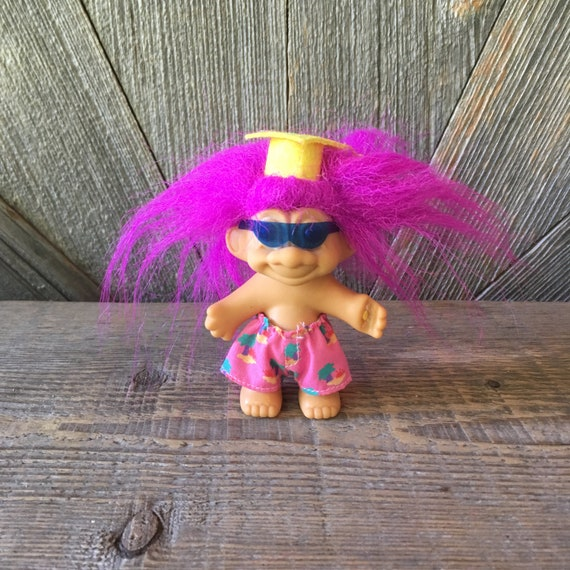 """CRAZY ABOUT YOU Russ Message Troll 3/"""" NEW IN BAG"""