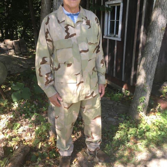 Vintage Army Jacket and Pants {USA US Army} Medium