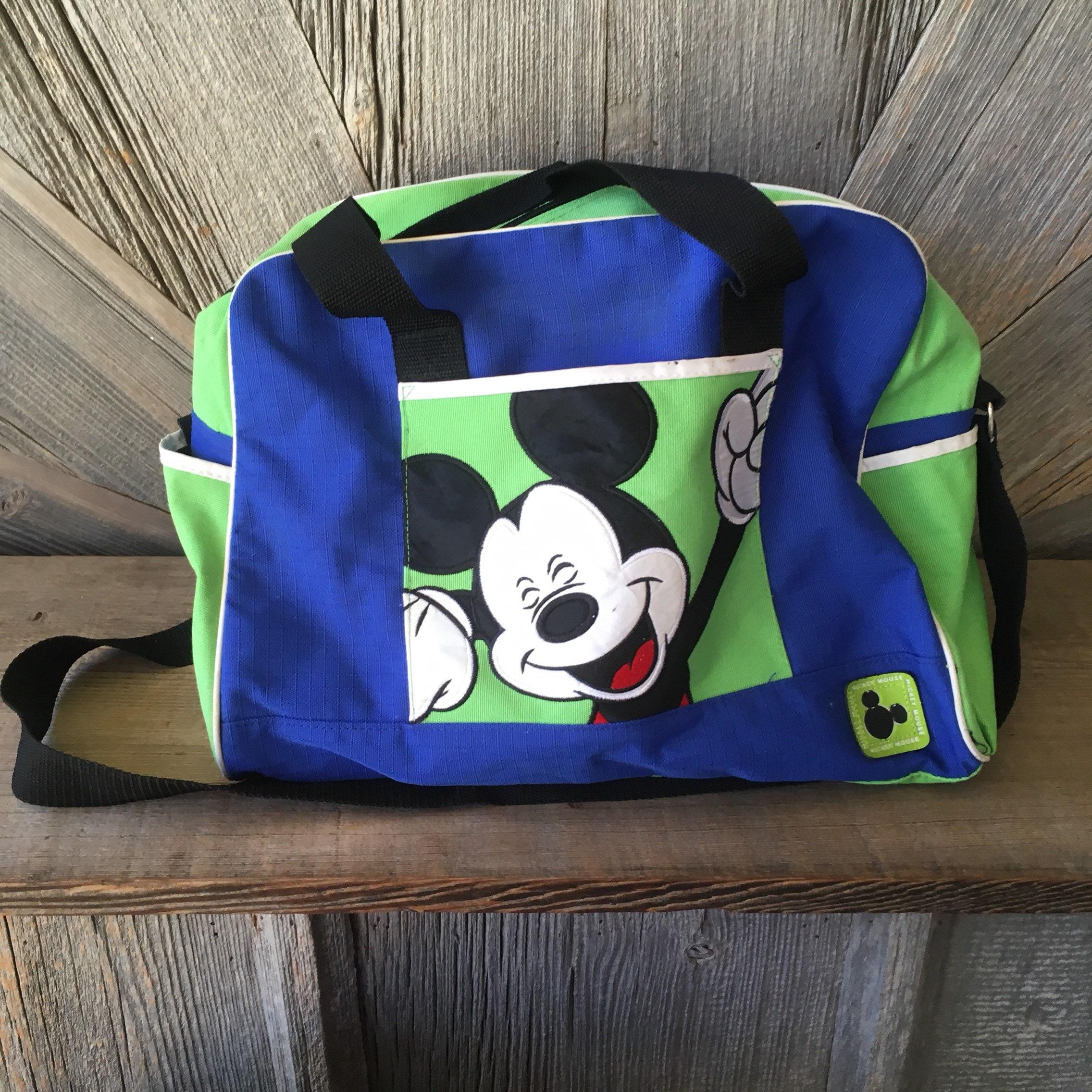 0fa0d0c2d0a6 Vintage Mickey Mouse Duffle Bag 90s Disney Kids Bag School