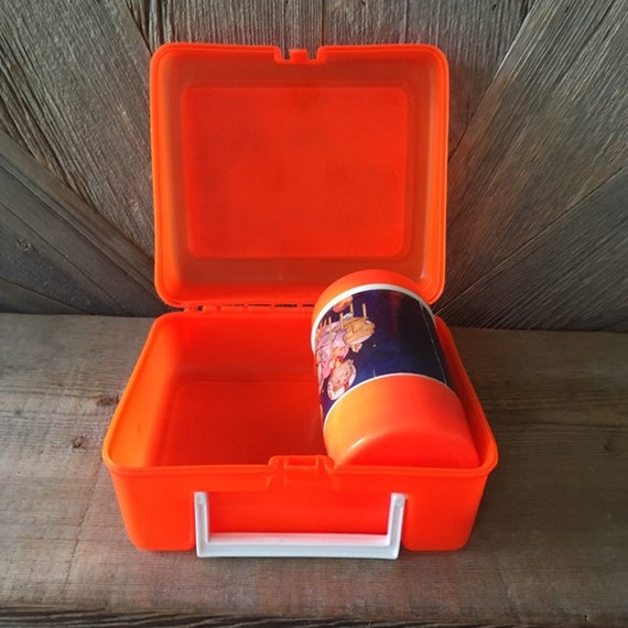 Vintage Accoutrements for Outer Space Metal 1990s Lunch Box Food Storage