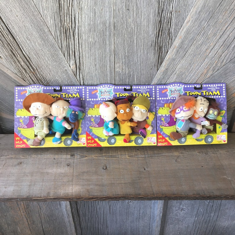 078215637d79 Vintage Toon Team 90s Toy Nickelodeon Baby Cartoon Tommy image 0 ...