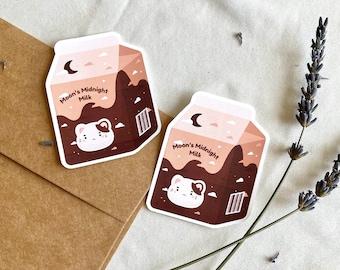 Moon's Midnight Milk Sticker | Studio Ghibli | Whisper of the Heart | The Cat Returns