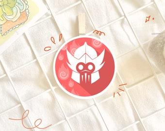 Avatar The Last Airbender Sticker ATLA | Fire Nation