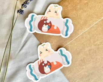 White Totoro Candy Sticker | Studio Ghibli | My Neighbor Totoro