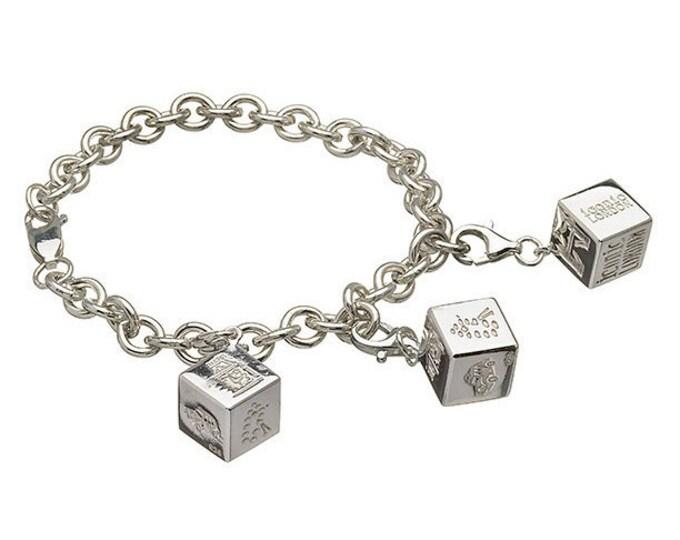 Charm Bracelet Hallmarked Sterling Silver