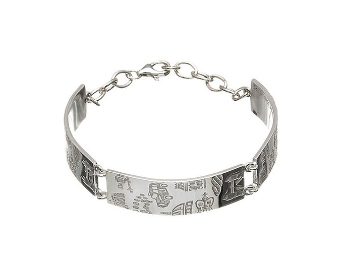 Hyde Park Bracelet Hallmarked Sterling Silver