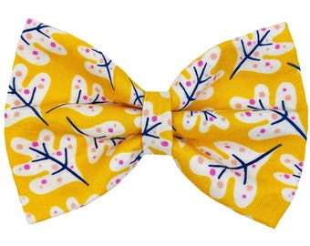 Pet bow tie - AMBER - Autumn collection - cat kitten dog puppy - color amber
