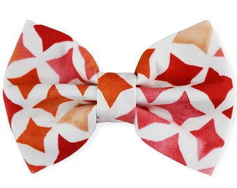 Pet bow tie | ZOEY | For cat, kitten, dog, puppy | Red, white, orange pink color Pet Accessoires Dog bow Cat Bow Pet Bow For Pets