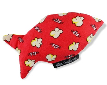 Cat Toy | Popcorn | Catnip Cat Toys | Cat Toys | Cat Gifts | Cat Lover Gifts | Crazy Cat Lady | Pet lover gift | Cat Toys