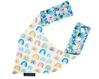Pet bandana | LOLA | reversible and adjustable | for cats kittens and dogs | Made in Canada -