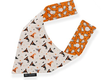 Pet bandana | PURRANORMAL | reversible and adjustable | for cats kittens and dogs | Made in Canada