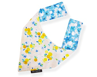 Pet bandana | PACHES | reversible and adjustable | for cats kittens and dogs | Made in Canada