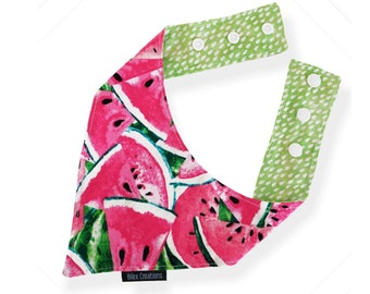 Pet bandana | LEXIE | reversible and adjustable | for cats kittens and dogs | Made in Canada