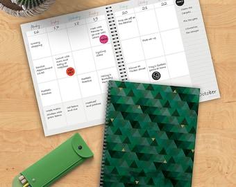 Emerald 8.75x11 Open Dated Planner