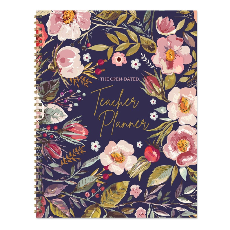 Undated Teacher 9x11 Lesson Planner  Perfect for image 0
