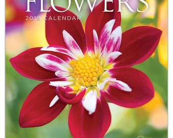 2019 Flowers Mini Calendar