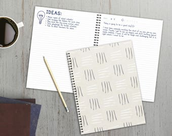 Mudcloth & Moroccan 9x11 Open Dated Weekly/Monthly Planner