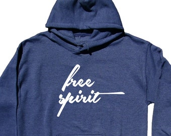 Free Spirit Burnout Hoodie